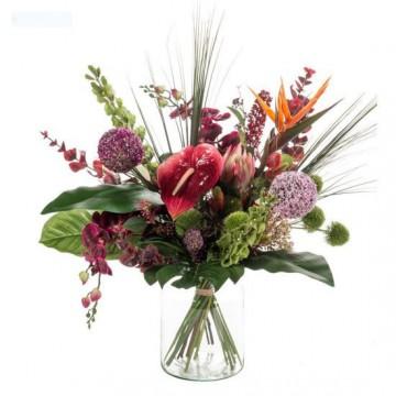Umělé květiny - Umělá kytice exotický mix 27 stonků