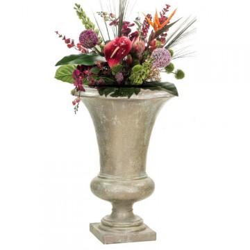 Luxusní květináče - Amphora bronze 52x80cm