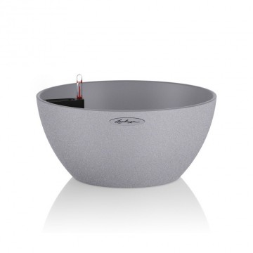 Lechuza květináče - Lechuza Cubeto Trend 30 Grey komplet