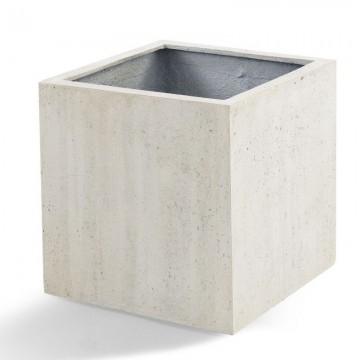 Venkovní květináče - D-lite Cube XL Concrete 60x60x60cm