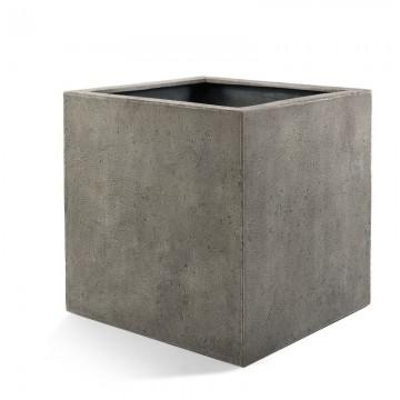 Venkovní květináče - D-lite Cube S Natural Concrete 30x30x30cm