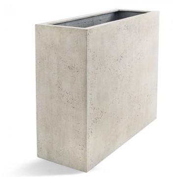 Venkovní květináče - D-lite vysoký truhlík Concrete 80x30x68cm