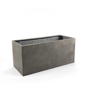 Venkovní květináče - D-lite truhlík S Natural Concrete 60x20x20cm