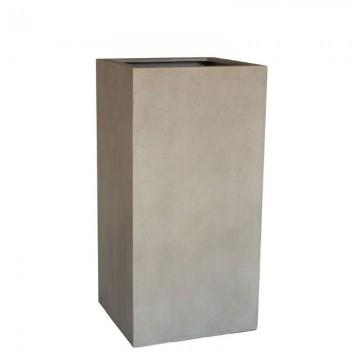 Venkovní květináče - D-lite kvádr L Concrete 45x45x90cm