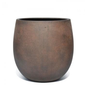 Venkovní květináče - D-lite vajíčko S Rusty Iron Concrete 30x30cm
