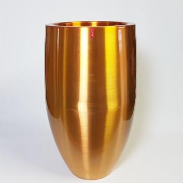 Kovové květináče - Aluminium Bubba Gold 49x82cm