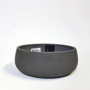 Venkovní květináče - Eco-line Bonsai mísa black 29x11m