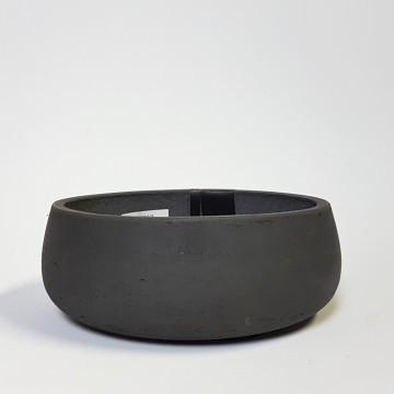 Venkovní květináče - Eco-line Bonsai mísa black 35x13m