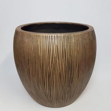 Venkovní květináče - Twist klasik bronzový 56x52cm