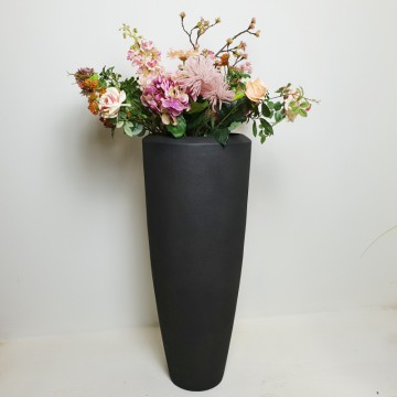 Luxusní květináče - Polystone Smoke Partner 37x90cm