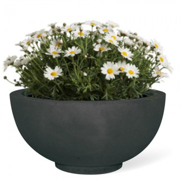 Venkovní květináče - Ego Plus Antracit 40x18cm