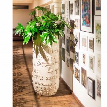 Luxusní květináče - Café natural 40x90cm