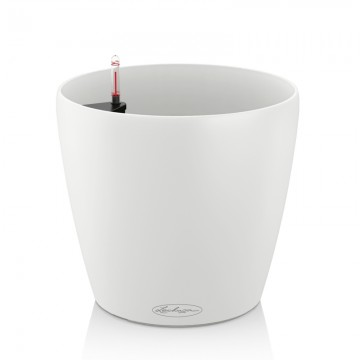 Lechuza květináče - Lechuza Classico Trend 18 White komplet