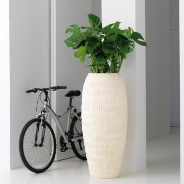 Venkovní květináče - Welcome natural 39x90cm