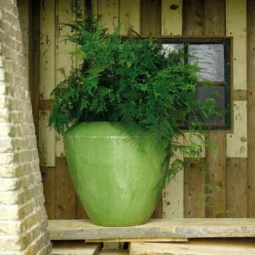 Keramické květináče - Lime Coppa 50x50cm