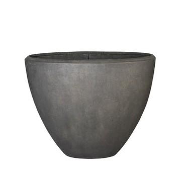 Luxusní květináče - Polystone Smoke Oval 110x50x90cm
