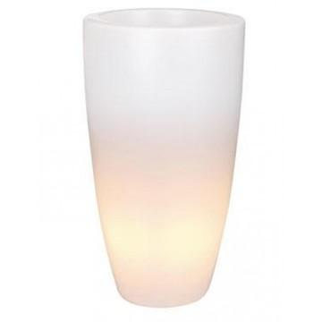 Svítící květináče - Pure Soft Round High Light 40x70cm