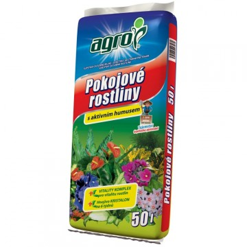 Doplňky - Agro substrát pro pokojové rostliny 50 litrů