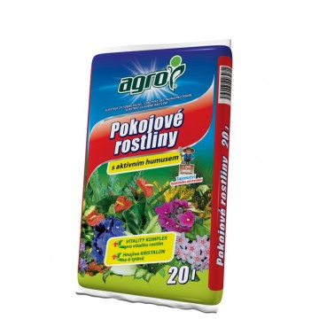 Doplňky - Agro substrát pro pokojové rostliny 20 litrů