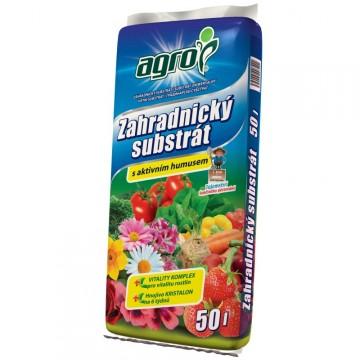 Doplňky - Agro substrát zahradnický 50 litrů
