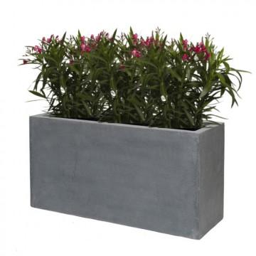 Venkovní květináče - Fiberstone truhlík Grey 80x30x40cm