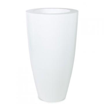 Luxusní květináče - Luna Premium White 51x90cm