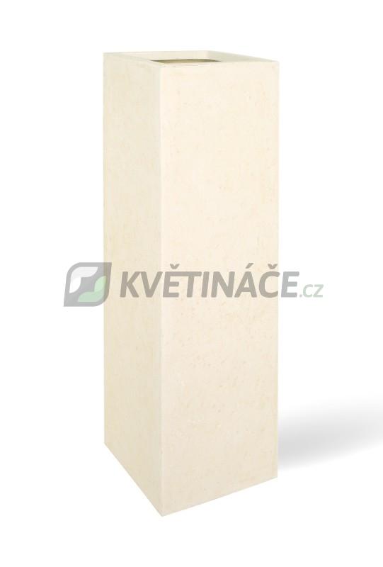Venkovní květináče - Style Creme 40x40x120cm