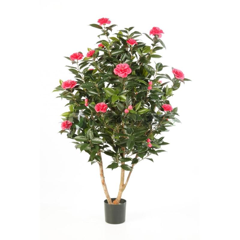 Umělé květiny - Camelia Japonica Pink 150cm