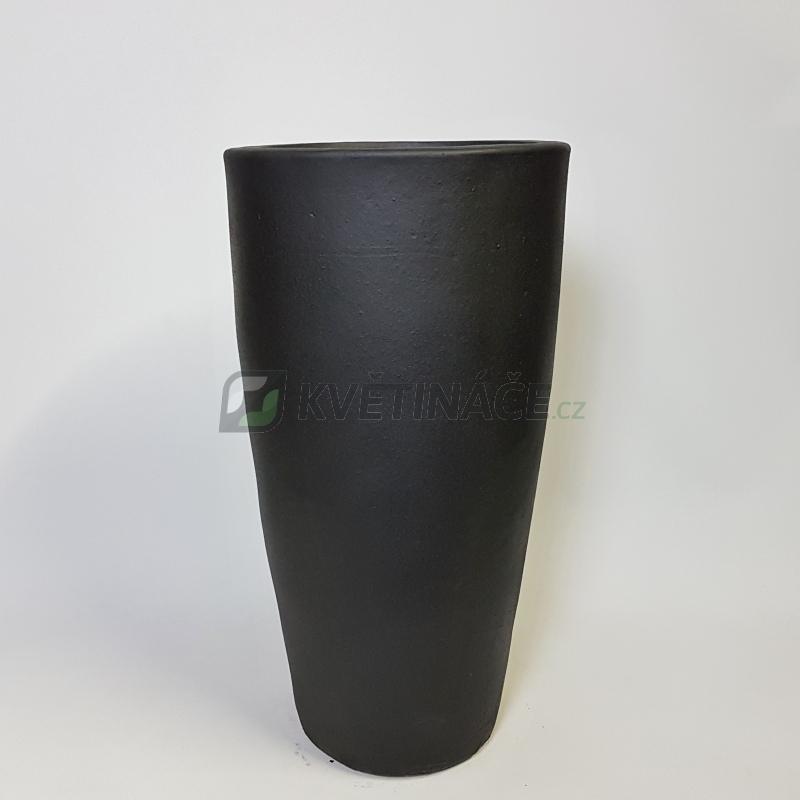Keramické květináče - Antracit Partner 36x70cm