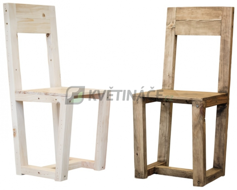 Nábytek z palet - Židle z palet Euro Wood 40x40x95cm