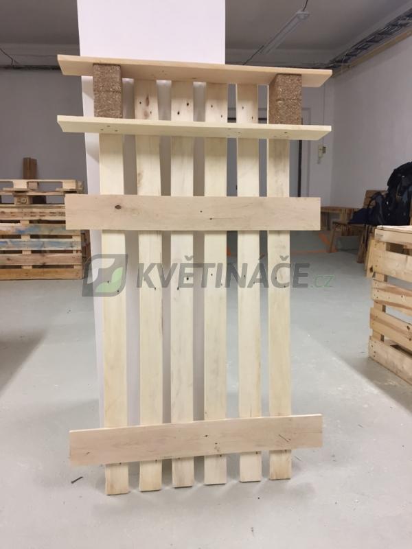 Nábytek z palet - Věšák z palet Euro Wood 85x15x130cm