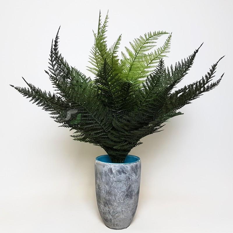 Umělé květiny - Umělé kapradí bush 35cm