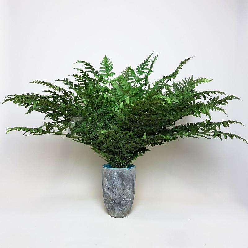 Umělé květiny - Umělé kapradí Athyrium 75cm