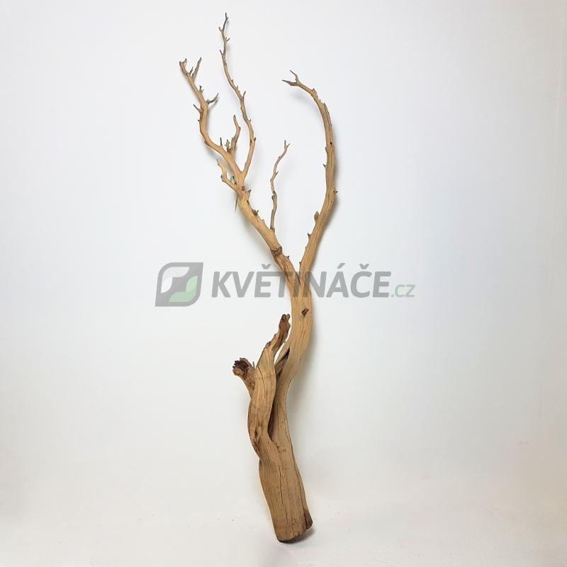 Dekorace - Dekorativní dřevěná větev 150cm