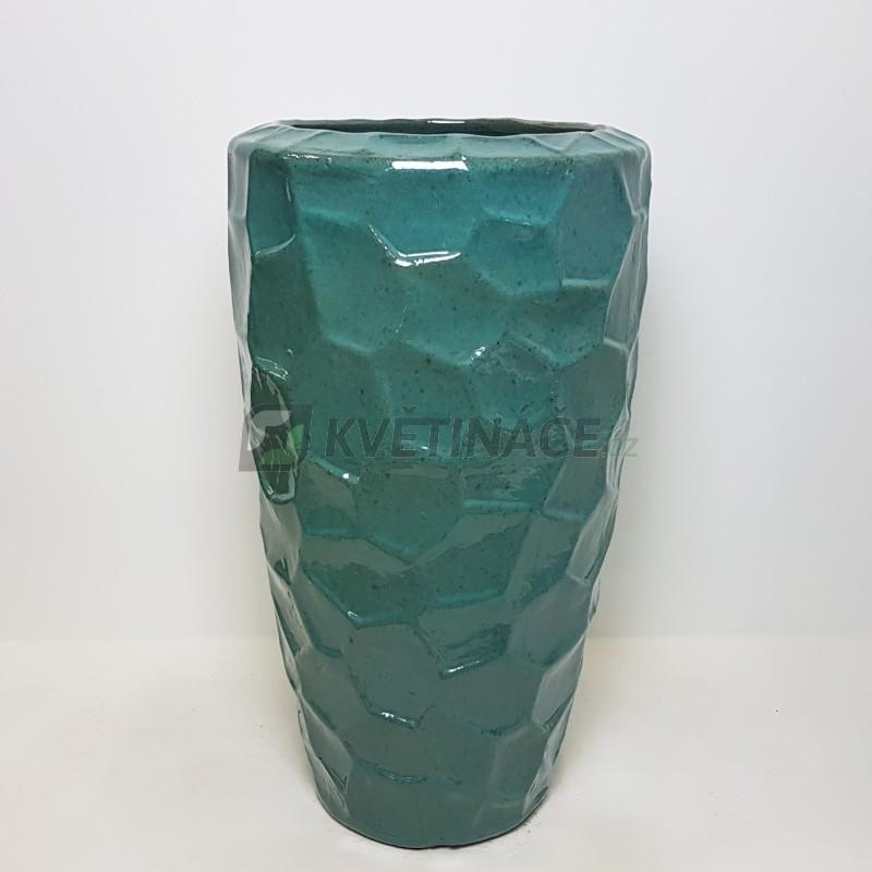 Keramické květináče - Moda Partner Reliéf Tahiti 43x75cm