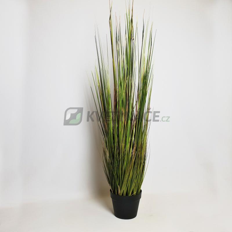 Umělé květiny - Umělá bambusová tráva 120cm
