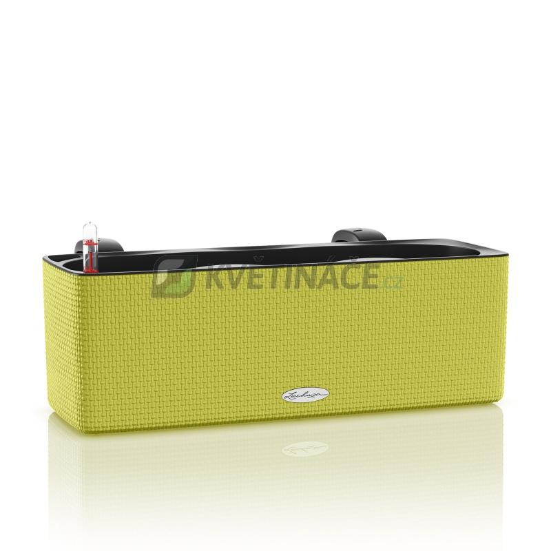 Lechuza květináče - Lechuza Cube Trend 14 truhlík Lime komplet