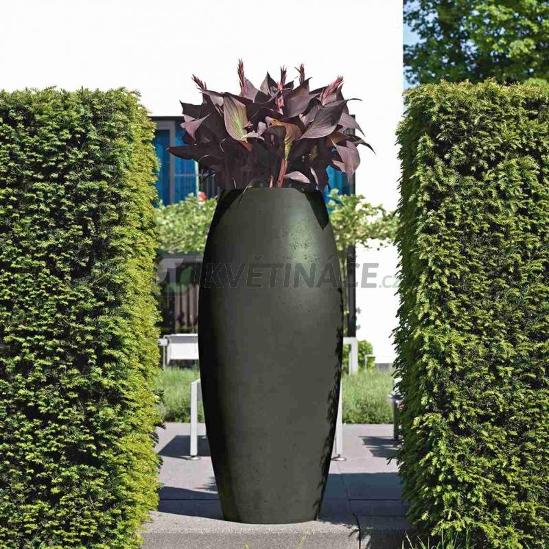 Venkovní květináče - Essence Ami antracit 52x120cm