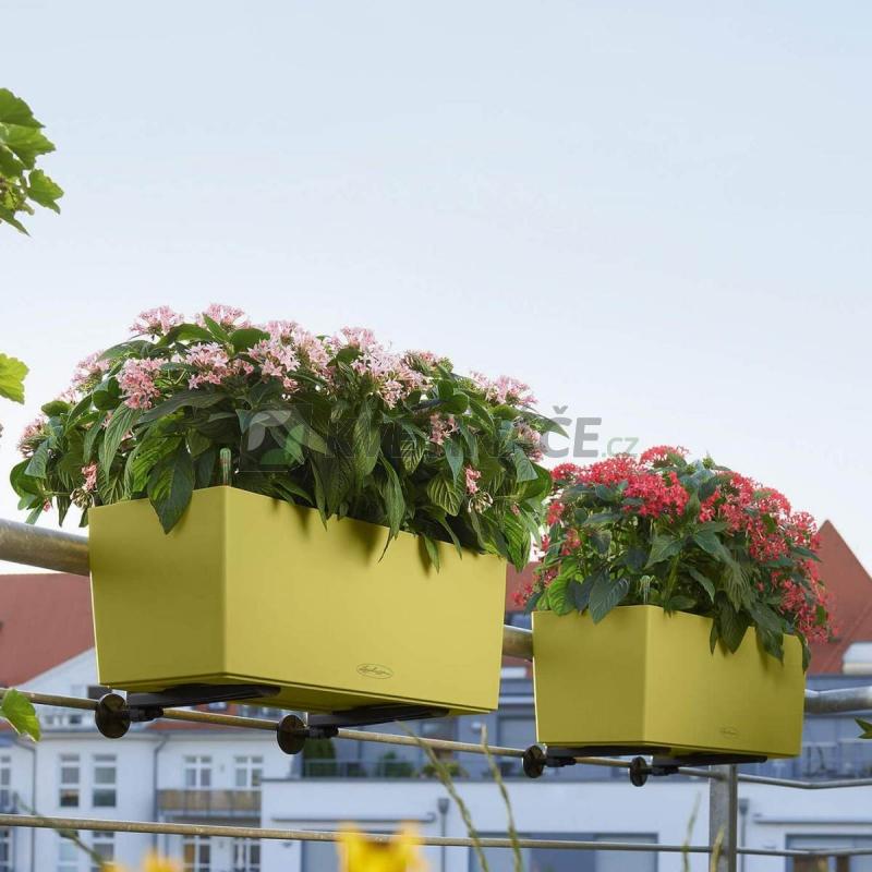 Lechuza květináče - Lechuza Balconera Trend 50 Pistácie komplet