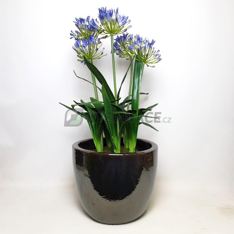 Keramické květináče - Metal Glaze Couple 39x34cm