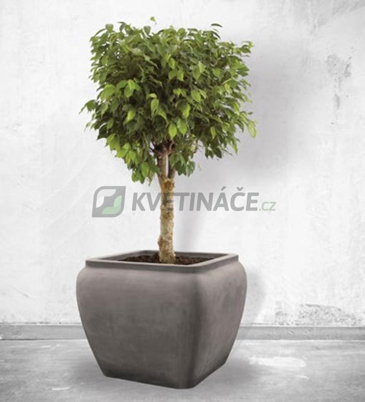 Venkovní květináče - Alegria Water Jar Square Grey 65x65x53cm