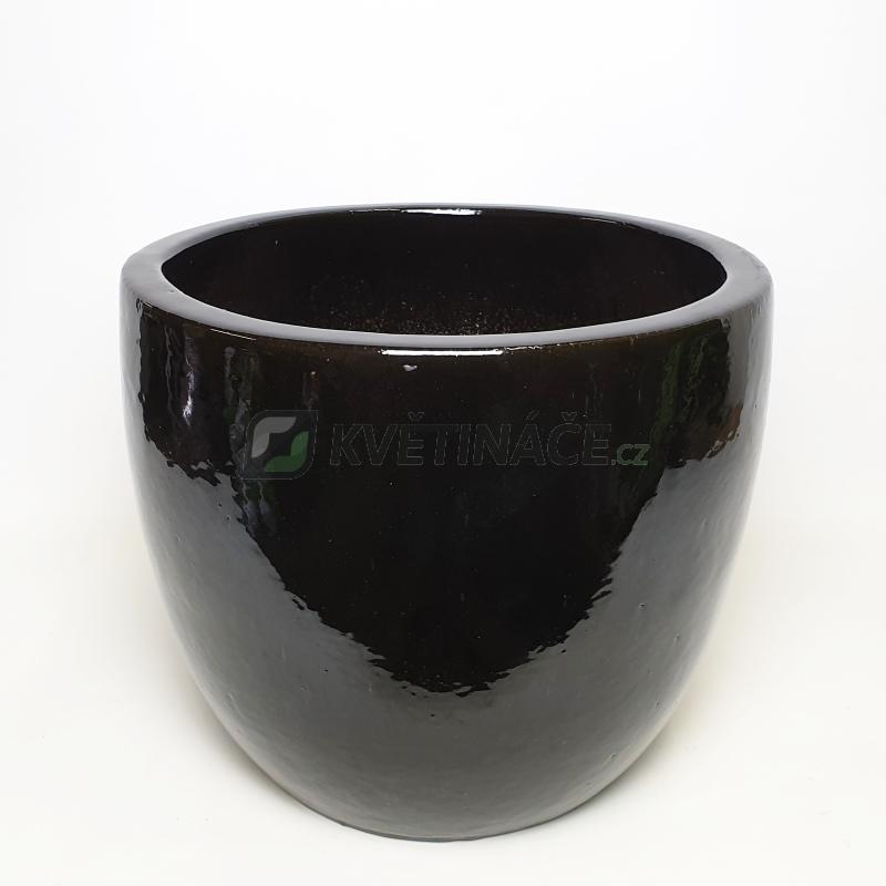 Keramické květináče - Black Couple Extra 46x43cm