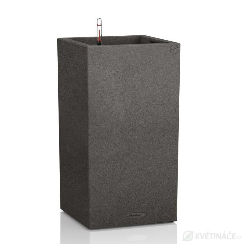 Lechuza květináče - Lechuza Canto Stone Tower 30 Graphite komplet