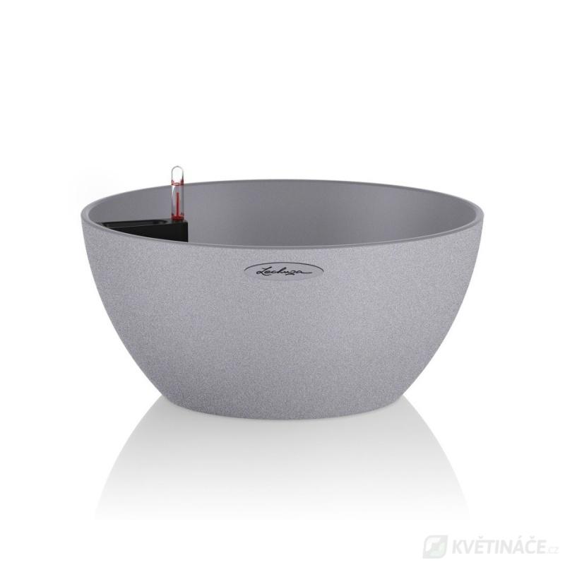 Lechuza květináče - Lechuza Cubeto Stone 30 Grey komplet