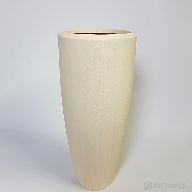 Luxusní květináče - Polystone Natural Partner 37x90cm