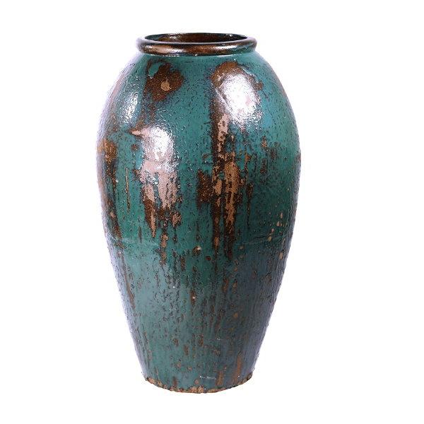 Keramické květináče - Mystic Ocean váza blue 52x105cm