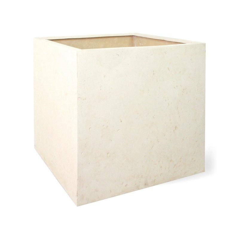Venkovní květináče - Square Creme 50x50x50cm