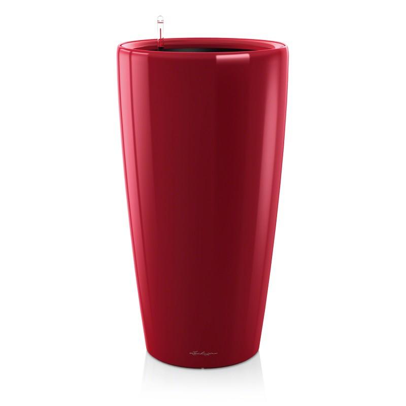 Lechuza květináče - Lechuza Rondo 40 Scarlet komplet