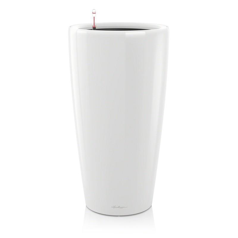 Lechuza květináče - Lechuza Rondo 40 White komplet