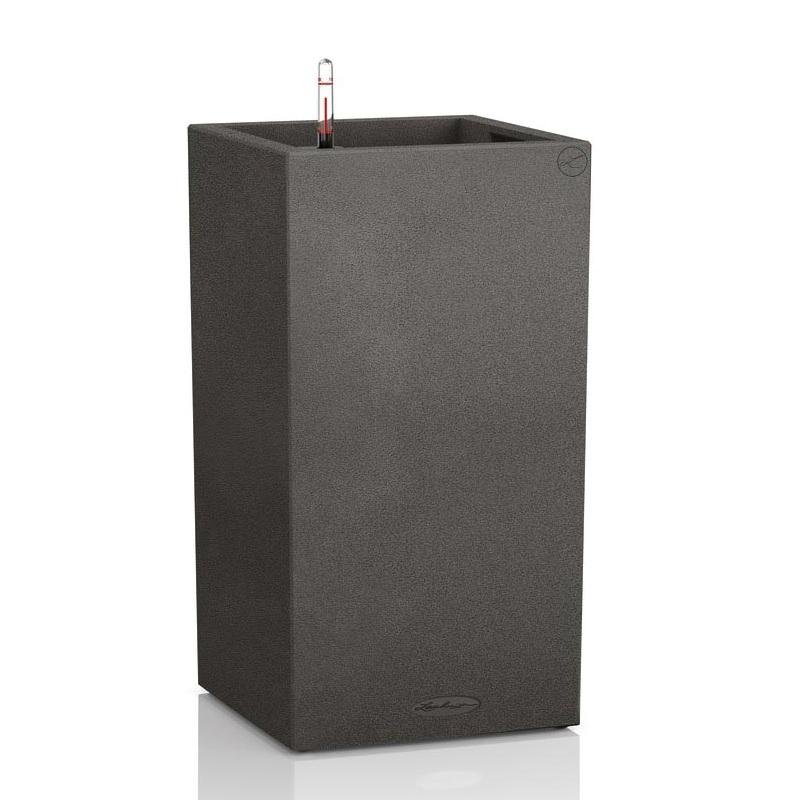 Lechuza květináče - Lechuza Canto Stone Tower 40 Graphite komplet